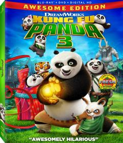 Kung Fu Panda 3 2016 1080p 3D BluRay Half-OU x264 AC3-JYK