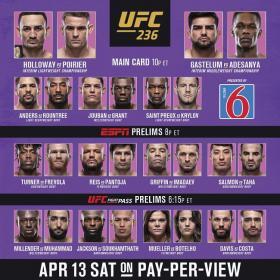 UFC 236 PPV Holloway Vs Poirier 2 HDTV x264-PUNCH[TGx]
