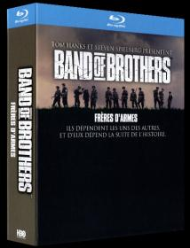 Band of Brothers S01 2001 BR EAC3 VFF 480p x265 10Bits T0M