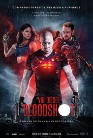 Bloodshot (2020) 720p HDCAM Dual Audio [Hin–Eng] x264 AAC CineVood Exclusive