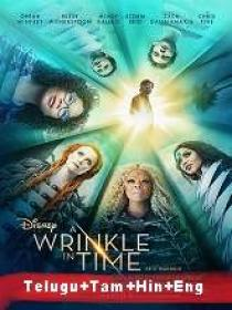 A Wrinkle in Time (2018) 1080p BluRay - Org Auds [Tel + Tam + Hin + Eng] 1.9GB ESub