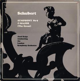 Schubert – Symphony No  9 C∙Major (The Great) -  Josef Krips, The London Symphony Orchestra - Vinyl - 1958