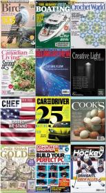 50 Assorted Magazines - April 14 2020