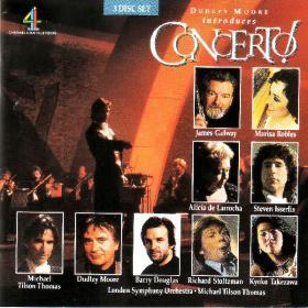 Concerto - Beethoven Mozart, Bartok, Copland, Rachmaninoff, Saint Saens & ors - Dudley Moore