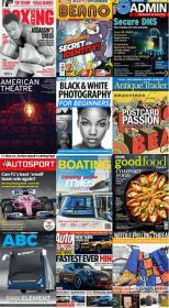 50 Assorted Magazines - May 08 2020