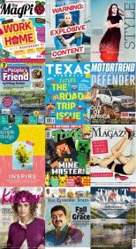 40 Assorted Magazines - May 08 2020