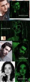 DesignOptimal com - Creativemarket - Matrix Rain Photoshop Action 4638304