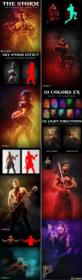 DesignOptimal com - Graphicriver - The Storm Photoshop Action 25950488
