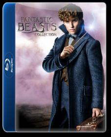 Fantastic Beasts collection (2016-2018) 1080p BluRay x264  ESub By~Hammer~