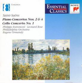 Saint-Saëns – Piano Concertos Nos 2 &4  Cello Concerto No 1- Philadelphia Orchestra, Eugene Ormandy  Philippe Entremont, Leonard Rose
