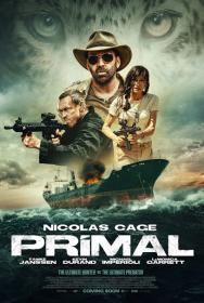 Primal 2019 Dual Audio [Hindi DD2.0 + English DD 5.1] 720p Bluray ESubs x264 AAC