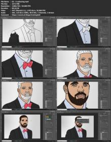 [ FreeCourseWeb com ] Turn yourself into a Cartoon Character in Photoshop