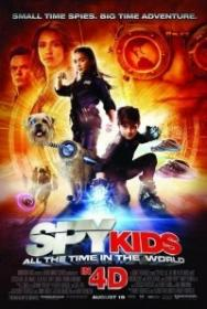 Spy Kids 4 All the Time in the World 2011 1080p AC3 DTS NL Subs