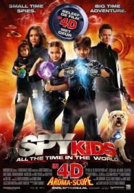 Spy Kids 4 All the Time in the World (2011) BRRip NL subs DutchReleaseTeam