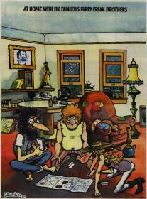 Furry Freak Brothers - Feds N Heads Board Game (1971) pdf -kawli
