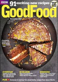 BBC Good Food Magazine UK - 91 Exciting new Recipes (November 2012)